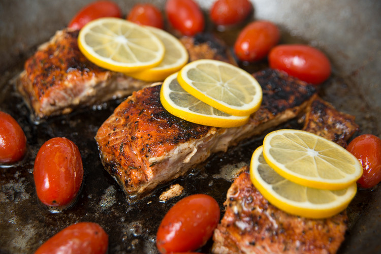 6-Ingredient (15-Minute) Wild Salmon Fillets