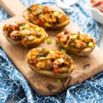 HOW TO COOK CHICKEN FAJITA POTATO SKINS