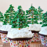 Chocolate-christmas-cupcakes-recipe