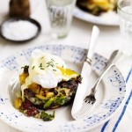 Black Pudding Bubble and Squeak Cakes