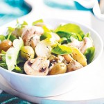 artichoke-mushroom-and-rocket-salad